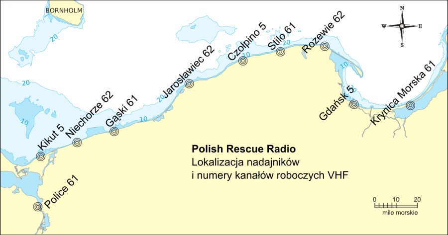 Nadajniki Polish Rescue Radio